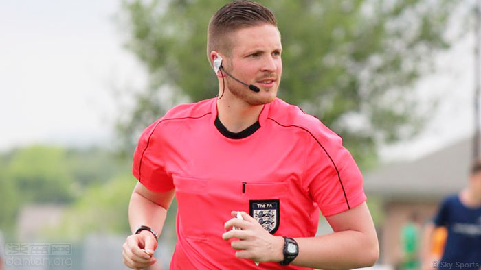 职业足球裁判出柜,创英国首例