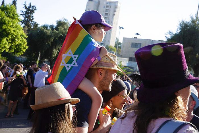 图集:第16届耶路撒冷LGBT骄傲巡游