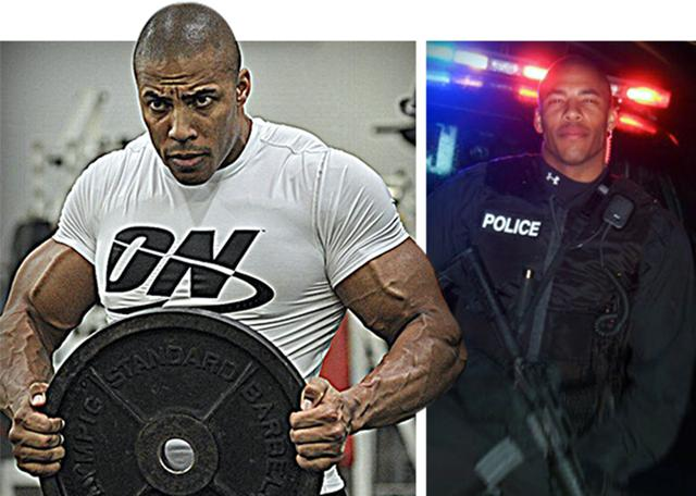 世界最强壮肌肉警察TOP5,中国特警上榜