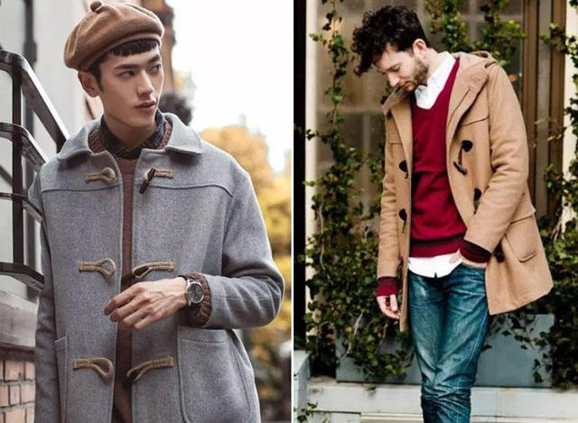 教你减龄又时髦的出街搭配,牛角扣大衣帅气过冬!