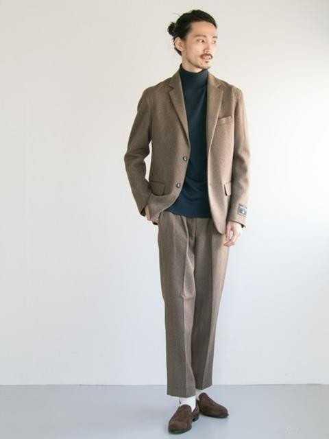 日式三种西装混搭,点缀时髦绅士魅力!
