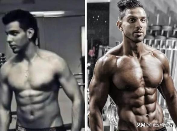1月内恢复身材的健身男神,十块腹肌不要太帅气